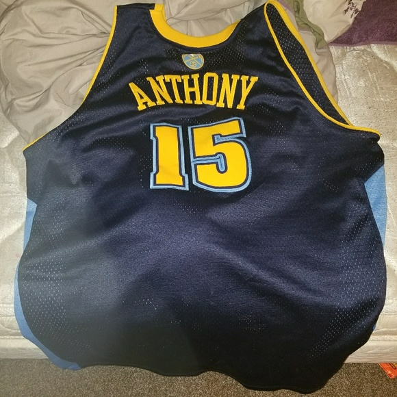 size 40 7572b 4feb4 Carmelo Anthony Nuggets Jersey